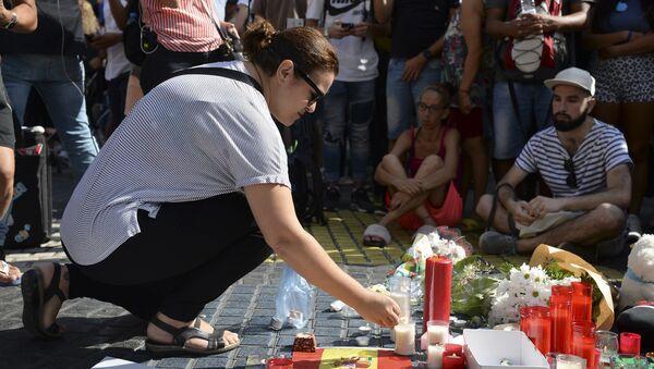 Barcelona'daki terör saldırısı - Sputnik Türkiye