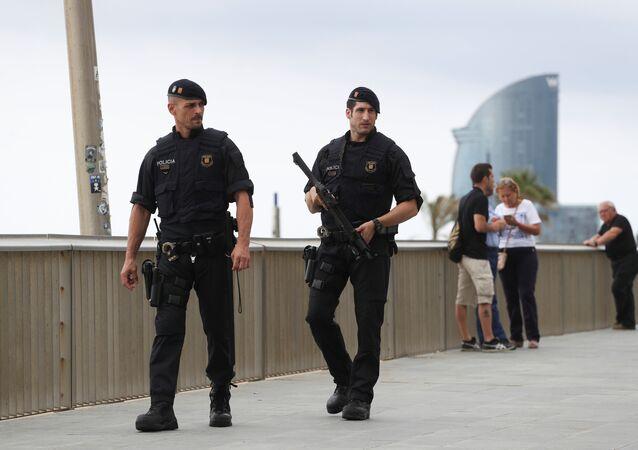Barcelona-polis