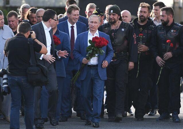 Rusya Devlet Başkanı Vladimir Putin- Gece Kurtları