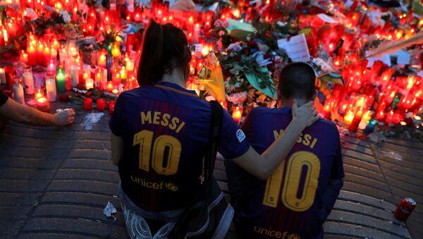 Barcelona'da terör saldırısı - Sputnik Türkiye