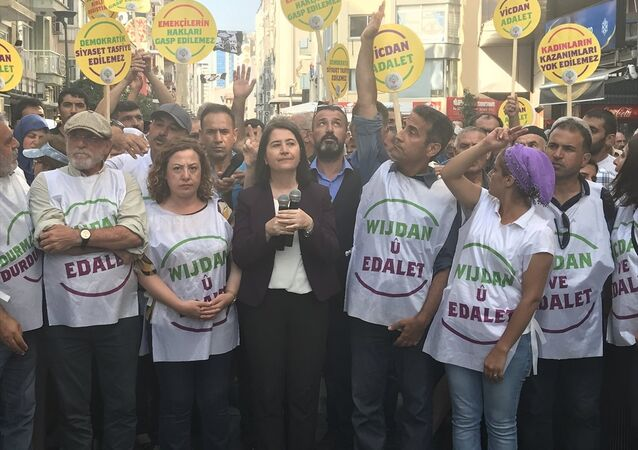 Vicdan ve Adalet Nöbeti - HDP - İzmir