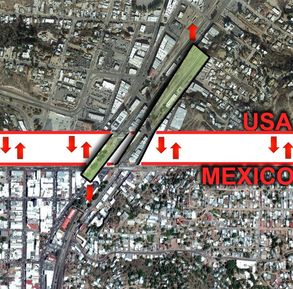 Meksika Duvarı yerine Özgürlük Parkı