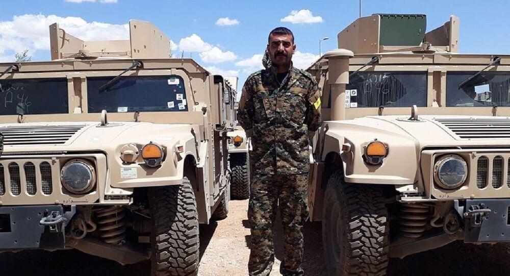 ABD DSG'ye zırhlı araç gönderdi