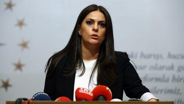 Çalışma ve Sosyal Güvenlik Bakanı Jülide Sarıeroğlu - Sputnik Türkiye