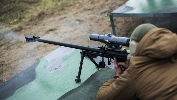 ASBK tüfeği ise Rusya Kara Kuvvetleri tarafından 2013 yılında kullanılmaya başlandı. 12.7x108 milimetre kalibreli bu tüfek 12 buçuk kilogram ağırlığında. - Sputnik Türkiye