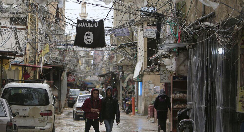 Lübnan sınırında IŞİD hakimiyetindeki bir bölge