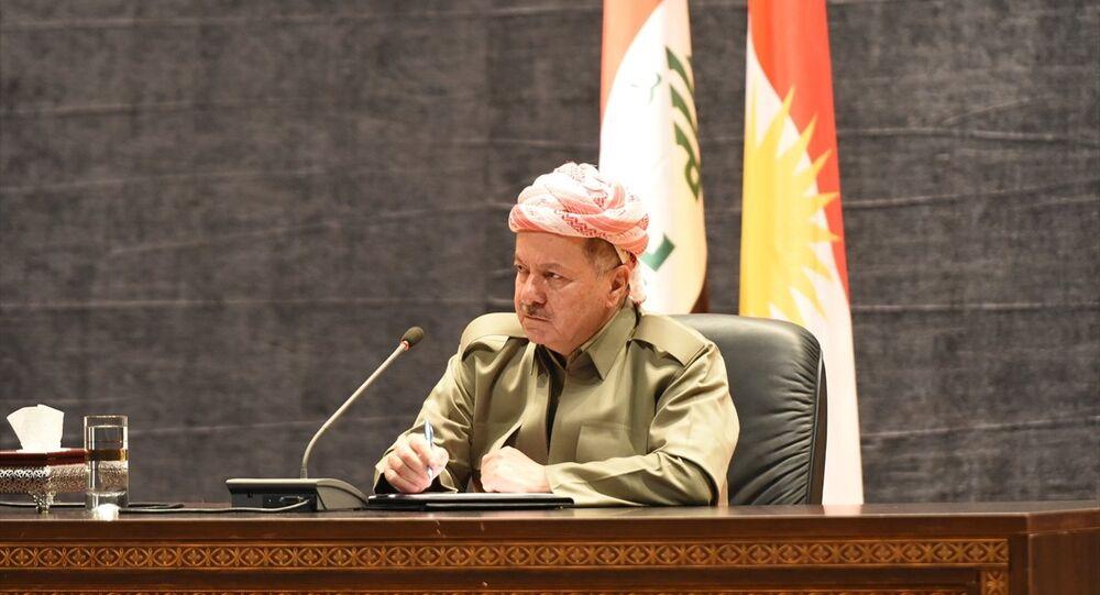 Irak Kürt Bölgesel Yönetimi (IKBY) Başkanı Mesud Barzani