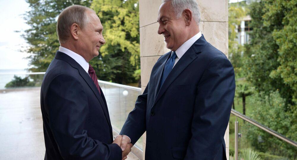 Rusya Devlet Başkanı Vladimir Putin- İsrail Başbakanı Benyamin Netanyahu