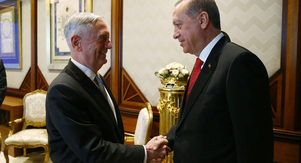 Erdoğan ve Mattis