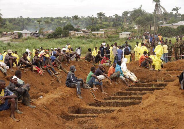 Sierra Leone - toprak kayması
