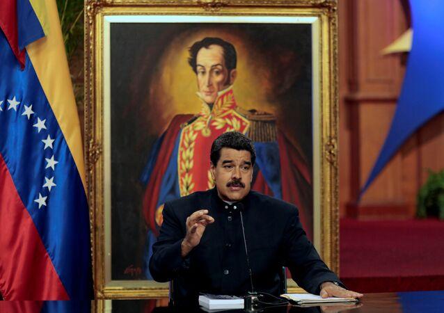 Veneüzella Devlet Başkanı Nicolas Maduro
