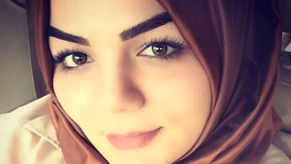 AK Parti Antalya Milletvekili Hüseyin Samani'nin kızı Betül Samani Gökay - Sputnik Türkiye