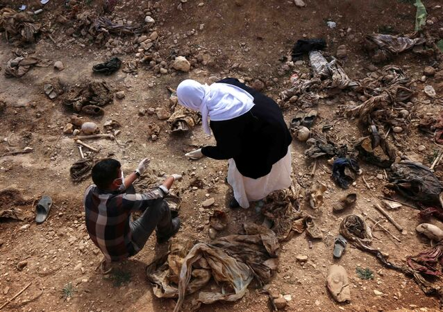 Irak toplu mezar