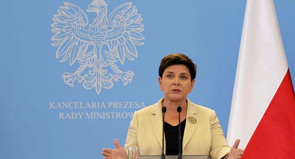 Polonya Başbakanı Beata Szydlo