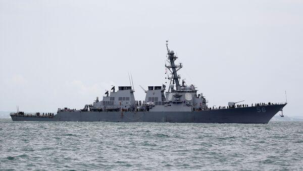 USS John S. McCain destroyeri - Sputnik Türkiye