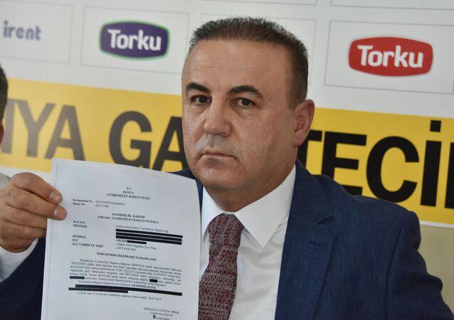 Atiker Konyaspor Başkan Yardımcısı ve Basın Sözcüsü Ahmet Baydar