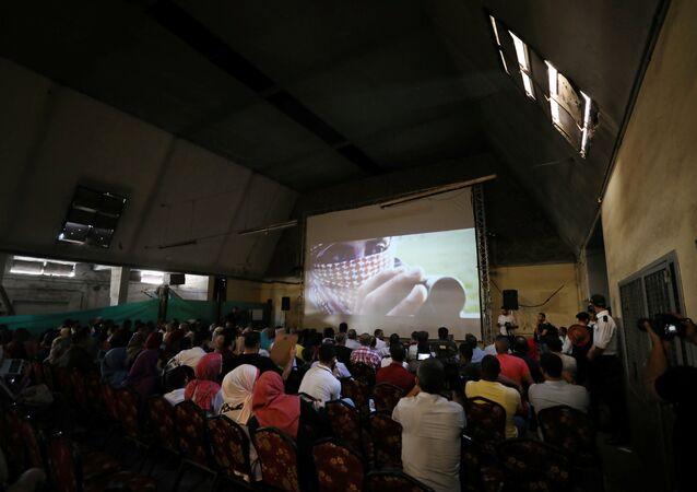 Samer sinema Gazze