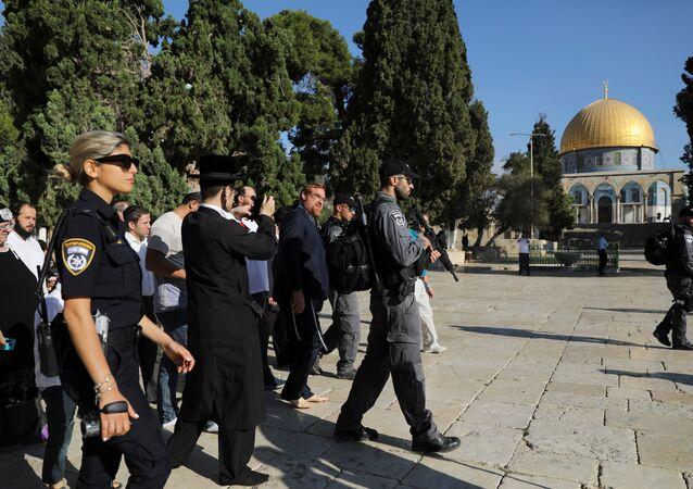 İsrailli vekil Yehuda Glick'in Harem-i Şerif'i ziyareti