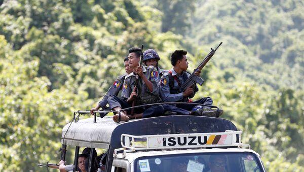 Myanmar, polis - Sputnik Türkiye