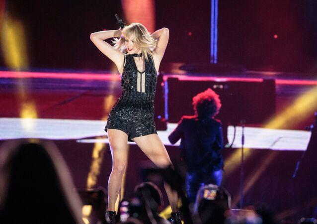 ABD'li şarkıcı Taylor Swift