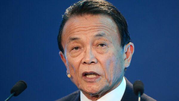 Japonya Başbakan Yardımcısı ve Ekonomi Bakanı Taro Aso - Sputnik Türkiye
