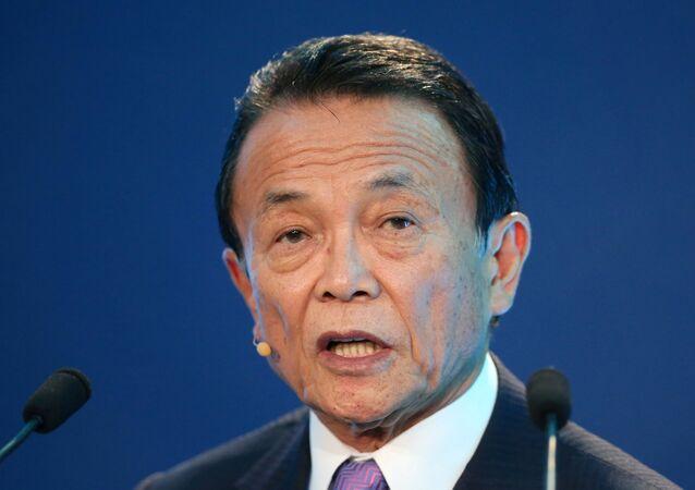 Japonya Başbakan Yardımcısı ve Ekonomi Bakanı Taro Aso