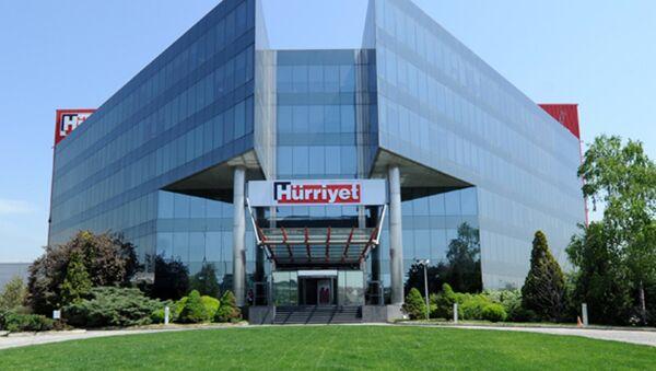 Hürriyet gazetesi binası - Sputnik Türkiye
