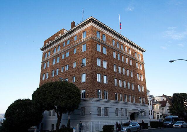 Rusya'nın ABD'denin San Fransisco kentindeki diplomatik binası