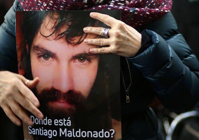Kayıp Arjantinli aktivist Santiago Maldonado