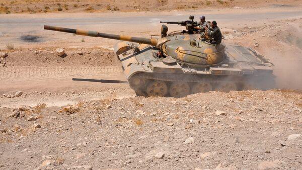 Suriye ordusu-Hama - Sputnik Türkiye