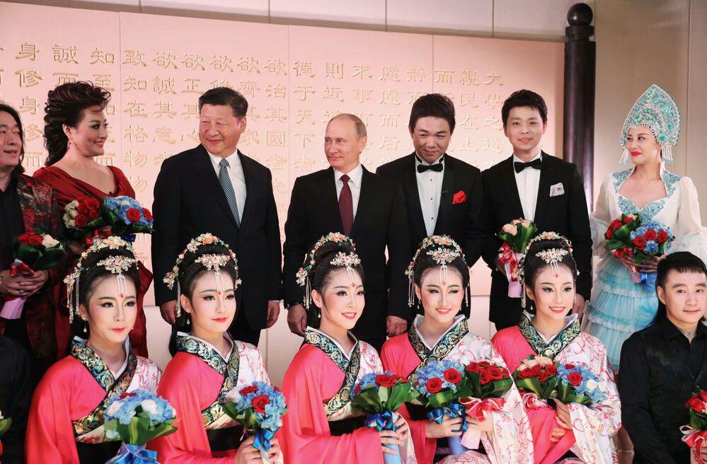 Putin'in Çin ziyareti