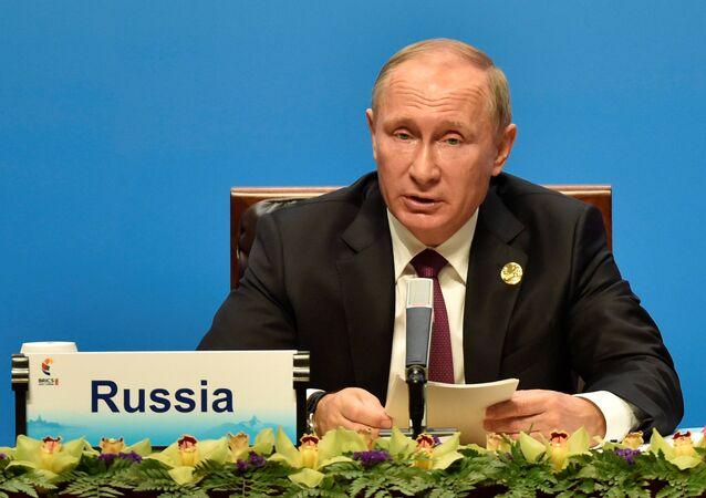 Rusya Devlet Başkanı Vladimid Putin- BRICS