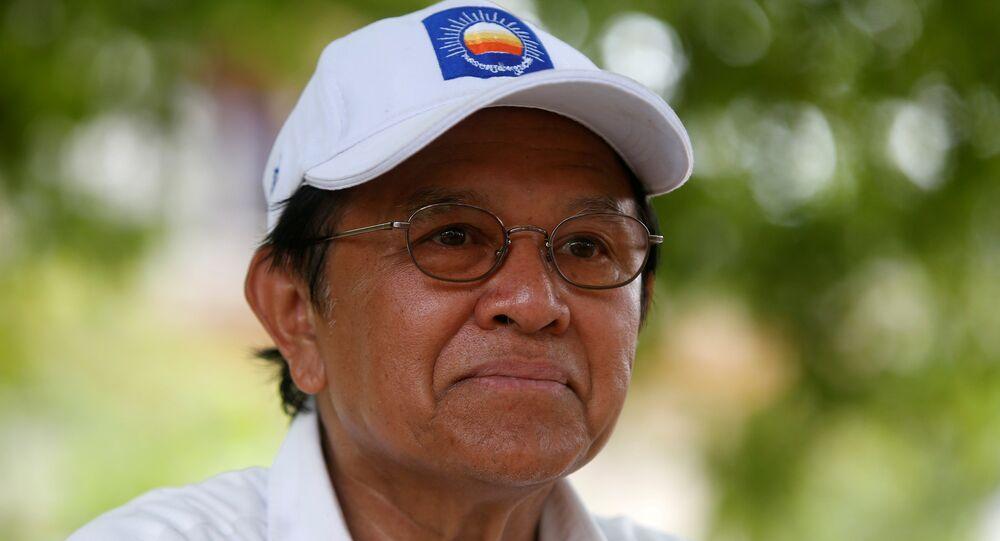 Kamboçya'da muhalefet lideri Kem Sokha