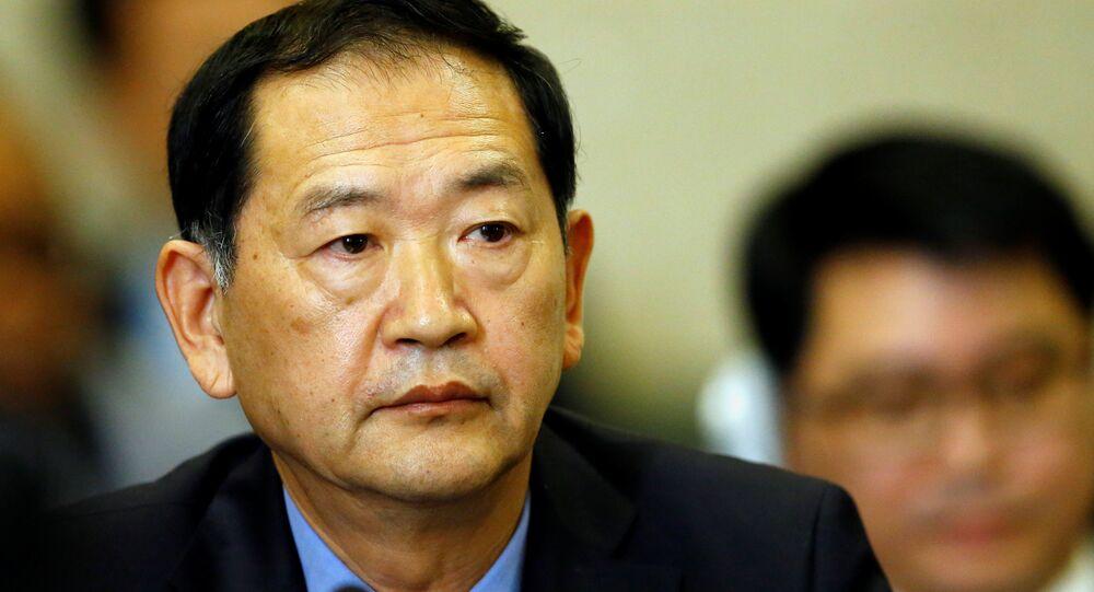 Kuzey Kore'nin BM Daimi Büyükelçisi Han Tae Song