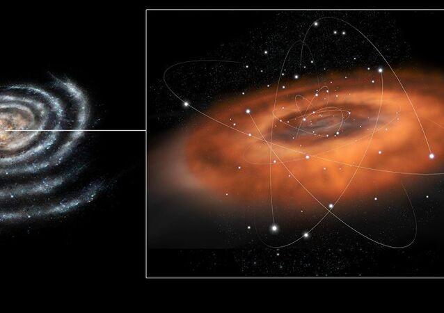 Samanyolu Galaksisi'nin merkezinin yakınlarındaki kara delik