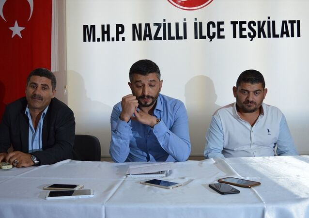 MHP Nazilli İlçe Başkanı Zafer Keskin
