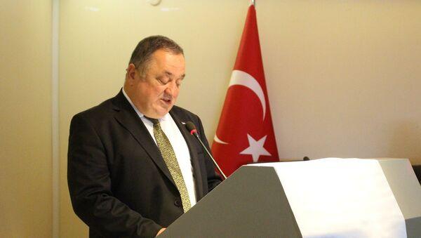 Doğu Karadeniz İhracatçılar Birliği (DKİB) Yönetim Kurulu Başkanı Ahmet Hamdi Gürdoğan - Sputnik Türkiye