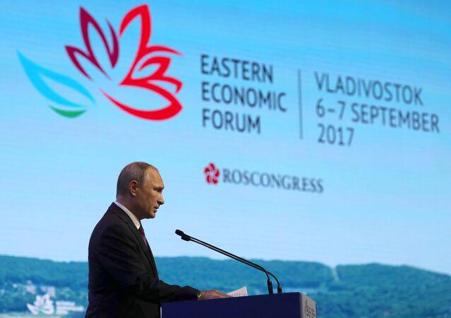 Rusya Devlet Başkanı Vladimir Putin, Doğu Ekonomik Forumu'nda