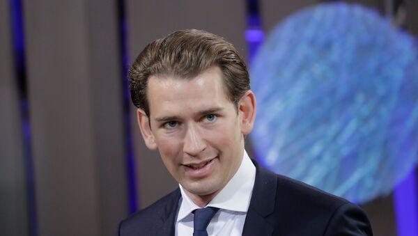 Avusturya Dışişleri Bakanı Sebastian Kurz - Sputnik Türkiye