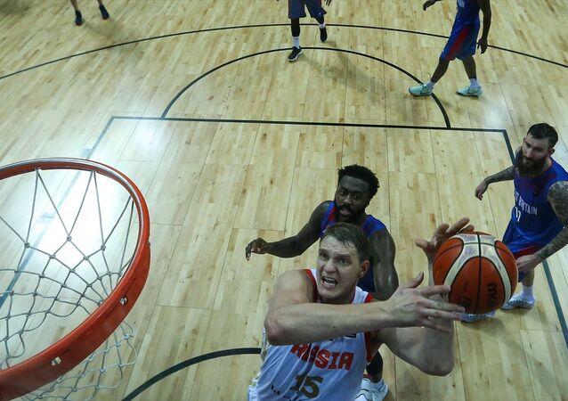 Avrupa Basketbol Şampiyonası'nda Rusya, İngiltere'yi mağlup etti