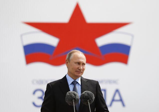 Rusya Devlet Başkanı Vladimir Putin, Zvezda