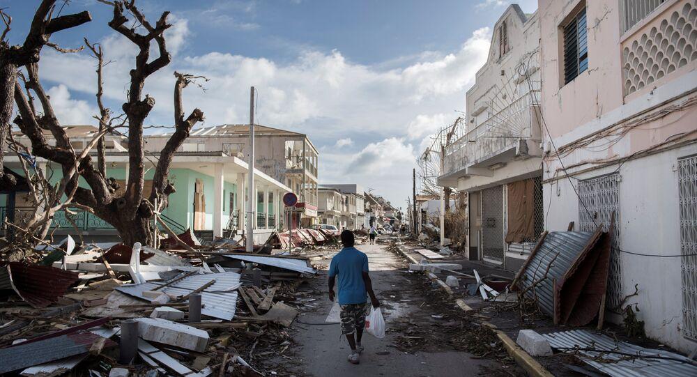 Irma kasırgası, St. Martin