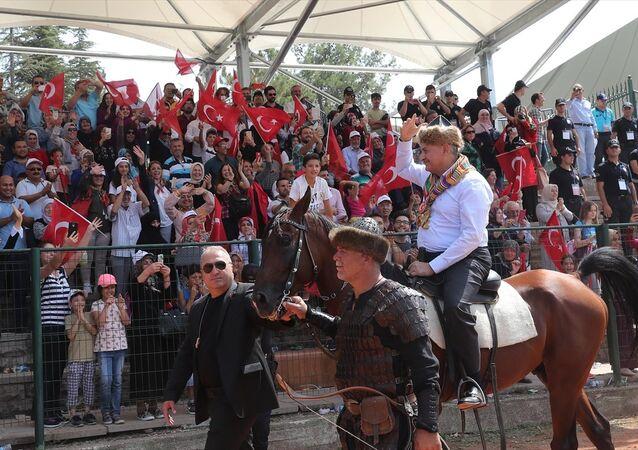 Başbakan Binali Yıldırım 736. Ertuğrul Gazi'yi Anma ve Söğüt Şenlikleri'nde