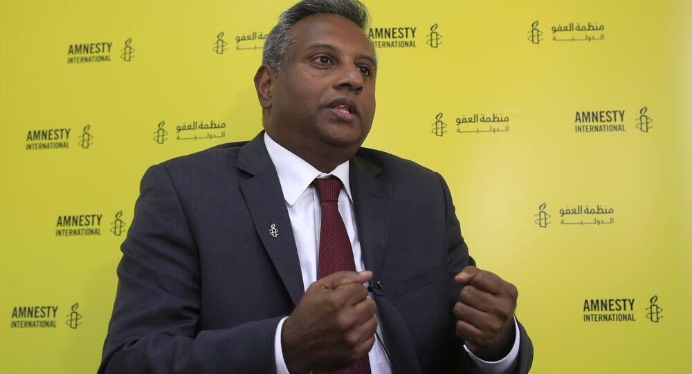 Uluslararası Af Örgütü Genel Sekreteri Salil Shetty