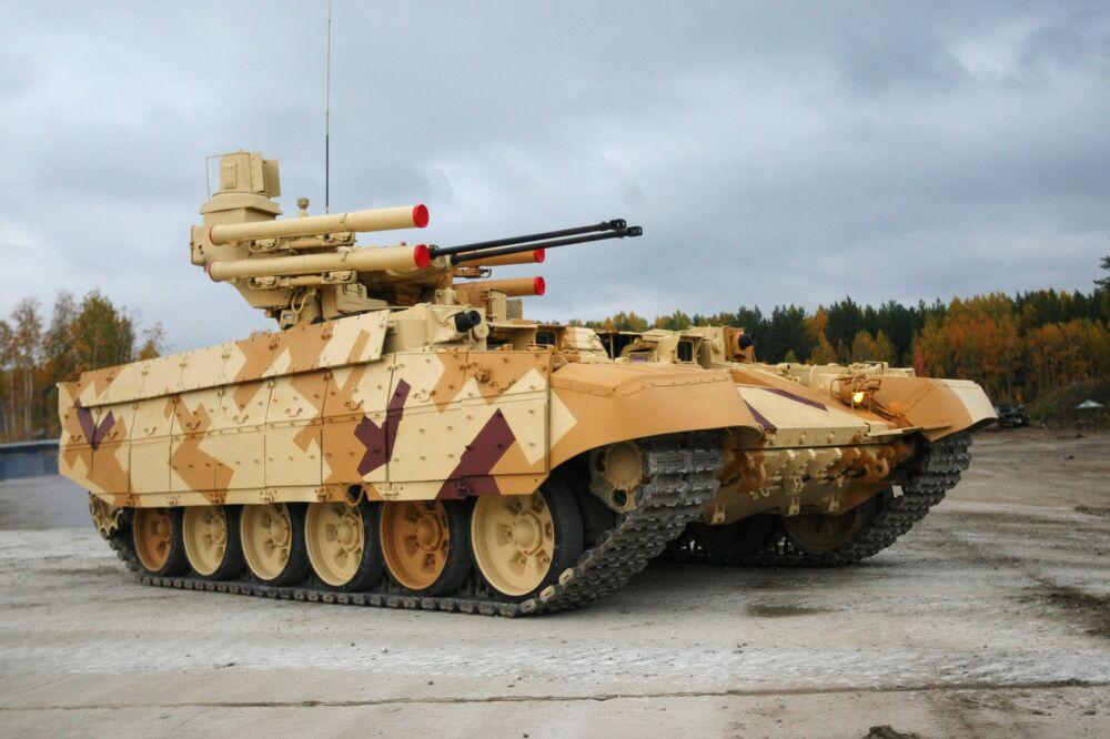 Rus tank destek aracı 'Terminatör 2