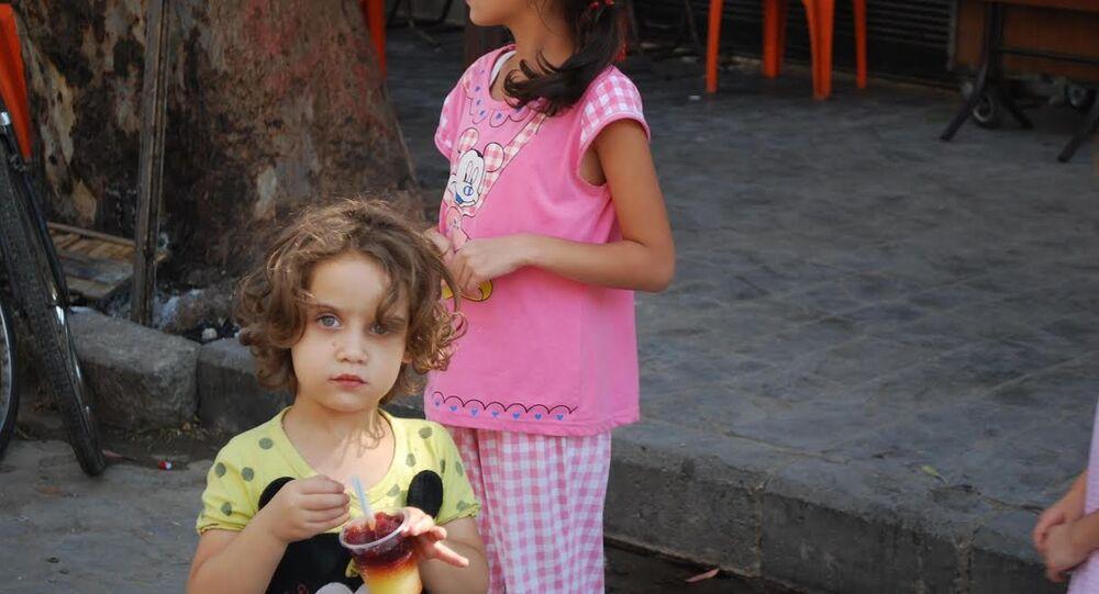 8 yaşındaki Suriyeli Saha