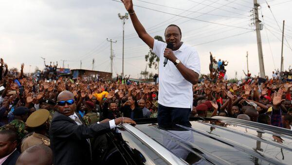 Kenya Devlet Başkanı Uhuru Kenyatta - Sputnik Türkiye