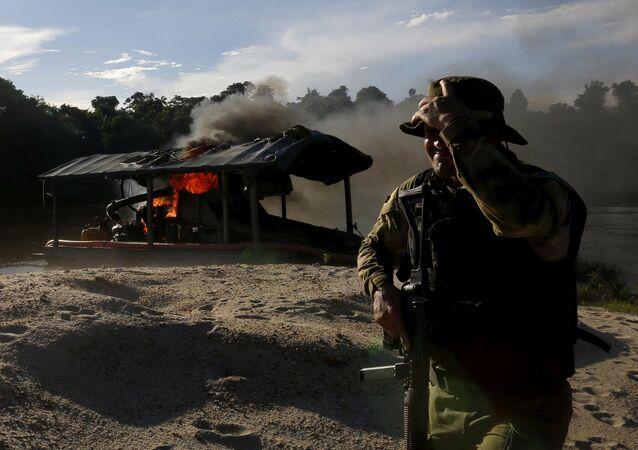 Amazon'da yasa dışı madencilik