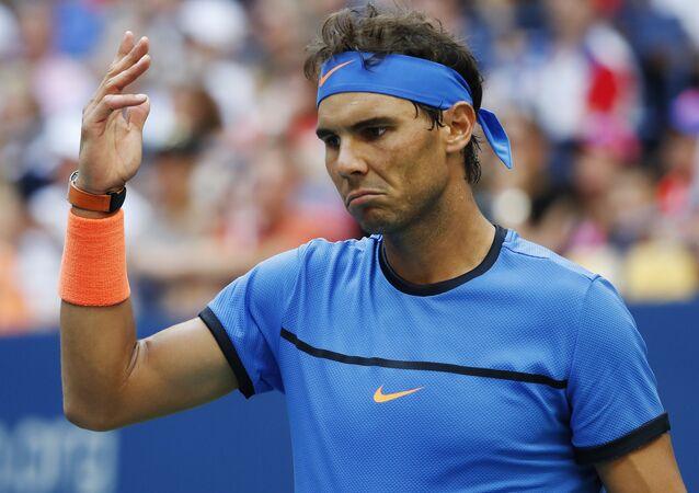 İspanyol tenisçi Rafael Nadal