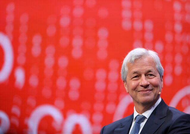 JP Morgan Chase CEO'su Jaime Dimon